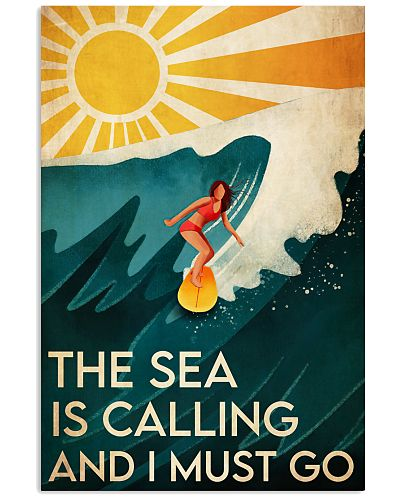Surfing The Sea Is Calling