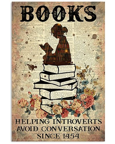Reading Books Helping Introvert Dictionary Page