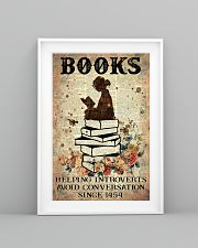 Reading Books Helping Introvert Dictionary Page  24x36 Poster lifestyle-poster-5