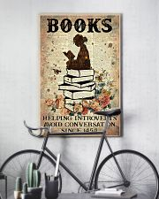 Reading Books Helping Introvert Dictionary Page  24x36 Poster lifestyle-poster-7