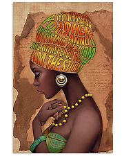 Afro Natural Loving Powerful  24x36 Poster front