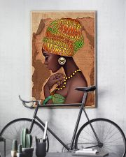 Afro Natural Loving Powerful  24x36 Poster lifestyle-poster-7