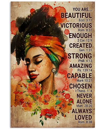 Afro You Are Beautiful Victorious