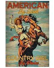 American By Birth Country Girl By Choice 24x36 Poster front