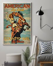 American By Birth Country Girl By Choice 24x36 Poster lifestyle-poster-1