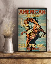 American By Birth Country Girl By Choice 24x36 Poster lifestyle-poster-3
