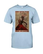 Salsa Flamenco Easily Distracted  Classic T-Shirt tile