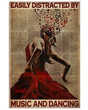 Salsa Flamenco Easily Distracted  24x36 Poster front