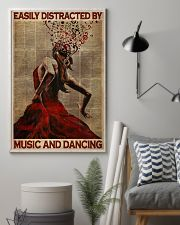Salsa Flamenco Easily Distracted  24x36 Poster lifestyle-poster-1