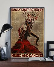 Salsa Flamenco Easily Distracted  24x36 Poster lifestyle-poster-2