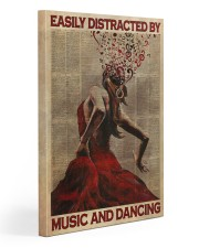 Salsa Flamenco Easily Distracted  Gallery Wrapped Canvas Prints tile