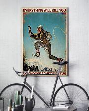 Mountaineering Choose Something Fun 2 24x36 Poster lifestyle-poster-7