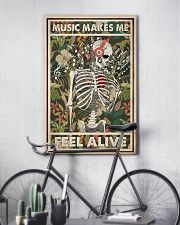 Music Makes Me Feel Alive 24x36 Poster lifestyle-poster-7