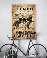 Drums Tempo Music Sheet  24x36 Poster lifestyle-poster-7
