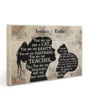 Custom Cat Lover Print - Dprintes Gallery Wrapped Canvas Prints tile