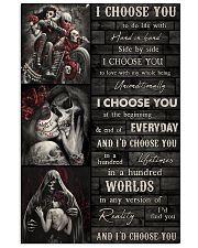 Sugar Skull Wood I Choose You 24x36 Poster front