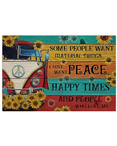 Campervan Peace Happy Times