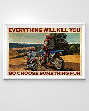 Off-road Motorcycle Choose Something Fun 36x24 Poster poster-landscape-36x24-lifestyle-02