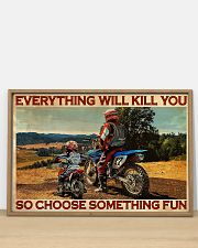 Off-road Motorcycle Choose Something Fun 36x24 Poster poster-landscape-36x24-lifestyle-03