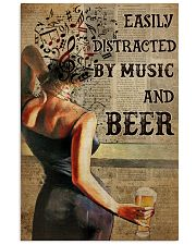 Music And Beer Book Page 24x36 Poster front