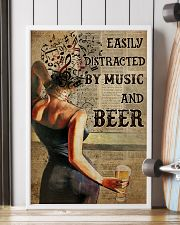 Music And Beer Book Page 24x36 Poster lifestyle-poster-4