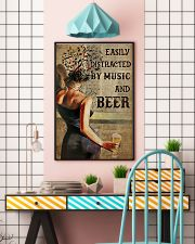 Music And Beer Book Page 24x36 Poster lifestyle-poster-6