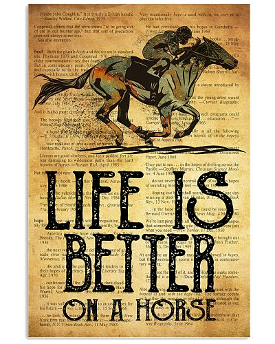Horse Racing Life Is Better On A Horse