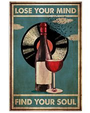 Wine And Vinyl  24x36 Poster front