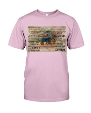 Farmer Today Is A Good Day Classic T-Shirt tile