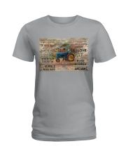 Farmer Today Is A Good Day Ladies T-Shirt tile