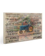 Farmer Today Is A Good Day Gallery Wrapped Canvas Prints tile