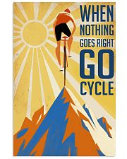 Cycling It Is Not The Mountain We Conquer 24x36 Poster front