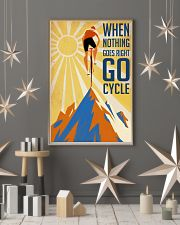 Cycling It Is Not The Mountain We Conquer 24x36 Poster lifestyle-holiday-poster-1