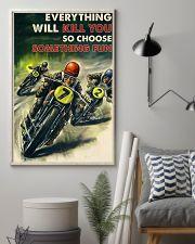 Motorcycle Racing Choose Something Fun 24x36 Poster lifestyle-poster-1