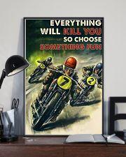 Motorcycle Racing Choose Something Fun 24x36 Poster lifestyle-poster-2
