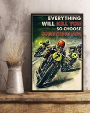 Motorcycle Racing Choose Something Fun 24x36 Poster lifestyle-poster-3