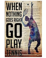 Go Play Tennis Dictionary  24x36 Poster front