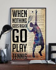 Go Play Tennis Dictionary  24x36 Poster lifestyle-poster-2