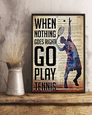 Go Play Tennis Dictionary  24x36 Poster lifestyle-poster-3