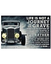 Hot Rod Life Is Not A Journey 36x24 Poster front
