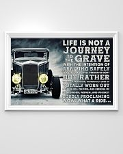 Hot Rod Life Is Not A Journey 36x24 Poster poster-landscape-36x24-lifestyle-02