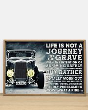 Hot Rod Life Is Not A Journey 36x24 Poster poster-landscape-36x24-lifestyle-03