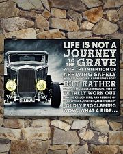 Hot Rod Life Is Not A Journey 36x24 Poster poster-landscape-36x24-lifestyle-15
