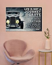 Hot Rod Life Is Not A Journey 36x24 Poster poster-landscape-36x24-lifestyle-19