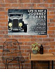 Hot Rod Life Is Not A Journey 36x24 Poster poster-landscape-36x24-lifestyle-20