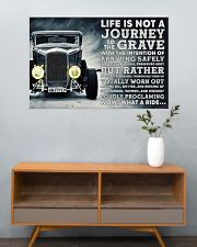 Hot Rod Life Is Not A Journey 36x24 Poster poster-landscape-36x24-lifestyle-21