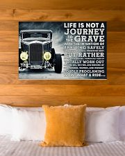 Hot Rod Life Is Not A Journey 36x24 Poster poster-landscape-36x24-lifestyle-23