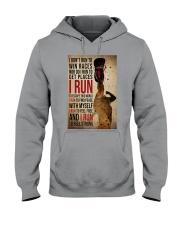 I Run Hooded Sweatshirt tile