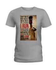 I Run Ladies T-Shirt tile