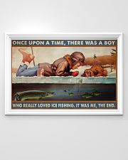 Boy Loved Ice Fishing 36x24 Poster poster-landscape-36x24-lifestyle-02